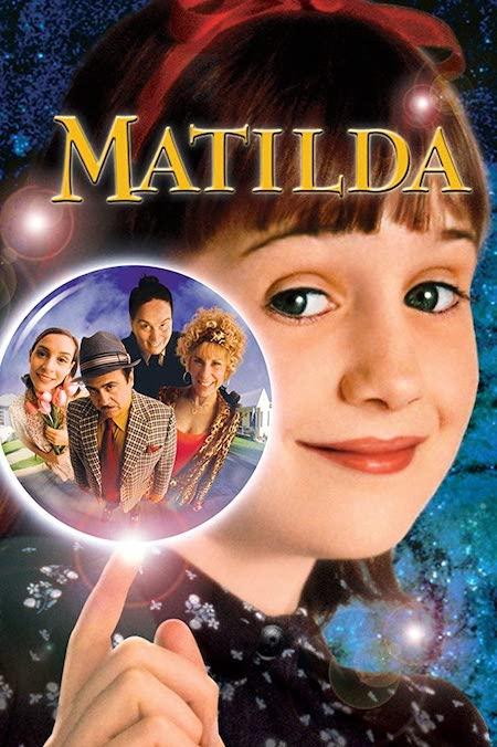 Matilda on Netflix kids movie