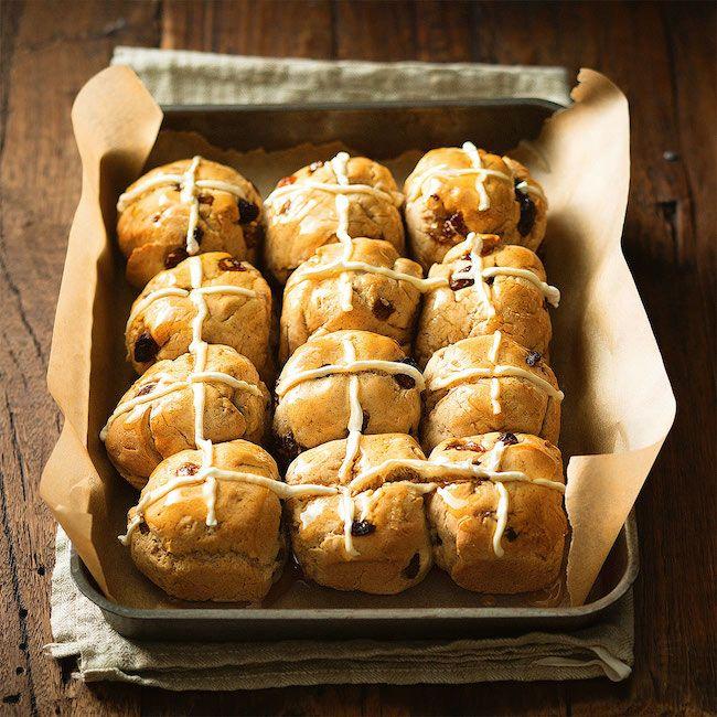 Hot Cross Buns Gluten-Free Recipe