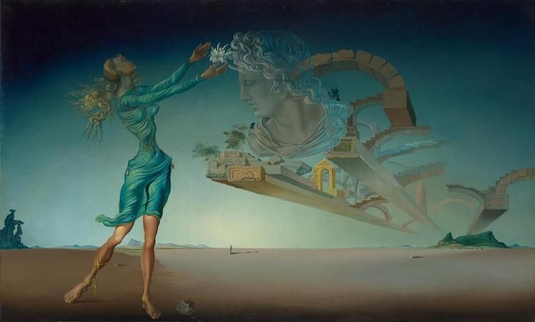Trilogy of the desert: Mirage by Salvador Dali painting, things to see Melbourne with family