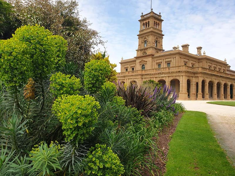werribee park mansion, vic state rose garden melbourne, historical places melbourne, family friendly parks, fun with kids